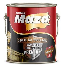 Maza Esmalte Direto Ferrugem Met Ouro Lux (3,6ml)