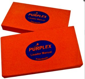 Purplex Taco Lixador Manual Macio para Lixas 1200 a 2500