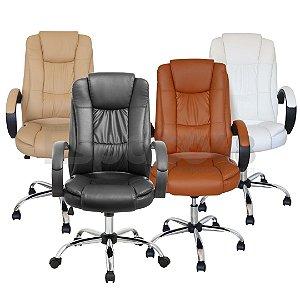 Cadeira de Escritório Presidente Super Luxo
