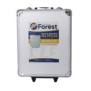 Maleta Kit de Ferramenta Forest em Aço Inox 186Pcs