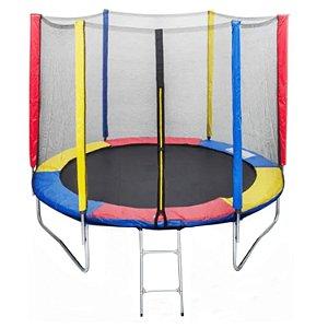 Cama Elastica 1.50M Colorida Trampolin Pula Pula