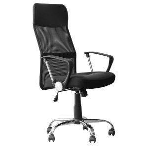 Cadeira Escritório Presidente Preta