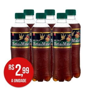 Ice Tea PÊSSEGO Pack com 6 Garrafas 350 ML