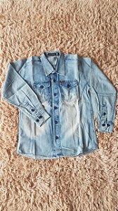 5250 - Camisa Jeans Claro Tm:12