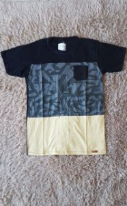 26581 Tm:18 Camiseta bolso preto