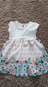 Tm 1 _ vestido  flor