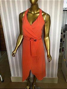 Vestido laranjado