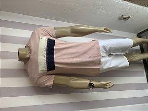 Camiseta da acostamento  Rosa