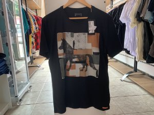 Camiseta acostamento preta G