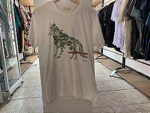 Camiseta acostamento branca  M