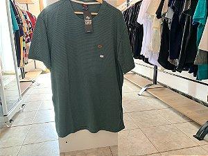 Camiseta masculina verde-escuro GG
