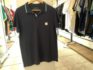 Camiseta acostamento azul escuro M