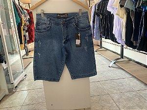 Short masculino jeans 40
