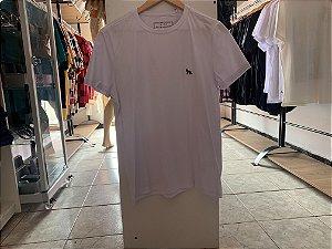 Camiseta acostamento branco M