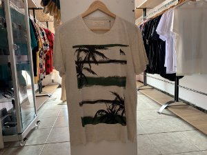 Camiseta acostamento cinza M