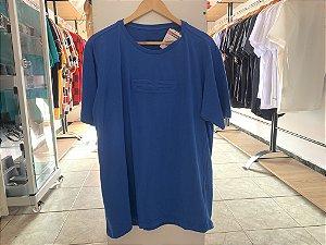 Camiseta masculina azul EGG