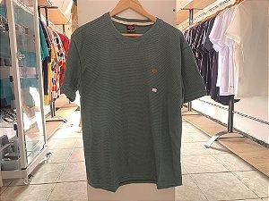 Camiseta masculina verde M