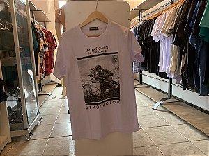 Camiseta masculina branca G