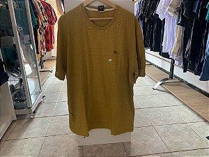 Camiseta masculina amarela XGG