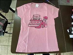 Camiseta fem punk g