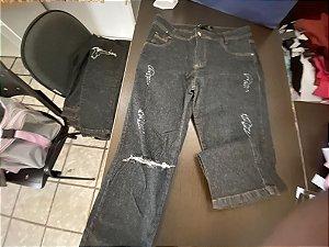Calça jeans preta 44