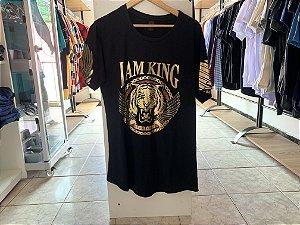 Camiseta masculina preta G