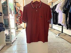 Camiseta masculina acostamento roxa M