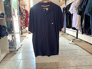 Camiseta masculina azul escuro GG