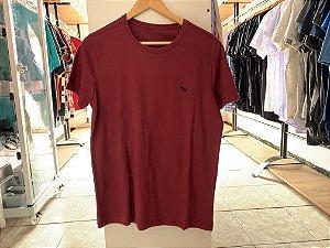 Camiseta masculina acostamento vermelha M