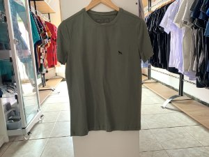 Camiseta masculina acostamento verde P