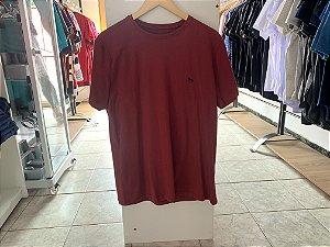 Camiseta acostamento vermelha G