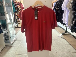 Camiseta masculina vermelha M