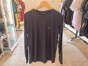 Camiseta masculina manga cumprida G