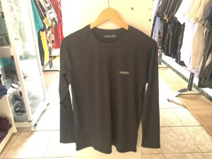 Camiseta de manga cumprida preta M