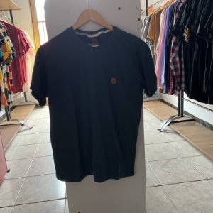 Camiseta masculina cinza escuro P