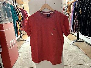 Camiseta masculina vermelha P