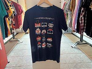 Camiseta masculina as escuro M