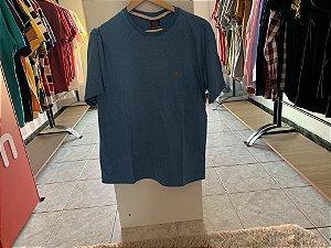 Camiseta masculina azul M