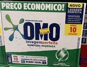 OMO lavagem perfeita sanitiza higieniza 800g