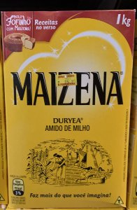 Maizena amido de milho 1kg