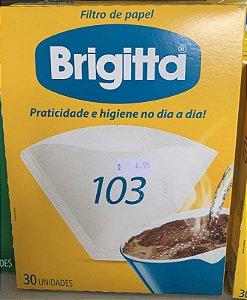 Filtro de papel brigitta 30 unidades