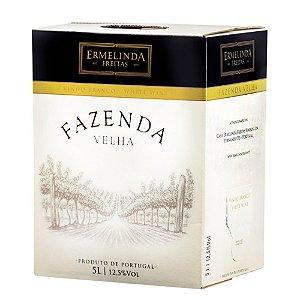 VINHO FAZENDA VELHA BRANCO BAG BOX 5L