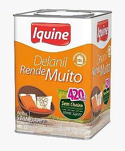 TINTA DELANIL RENDE MUITO BALDE 18L COR BRANCA