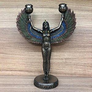 EGIPCIA PORTA VELAS 001510