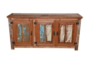 Arcaz  Almofadado 3 Portas