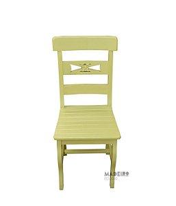 Cadeira Mineira Amarela