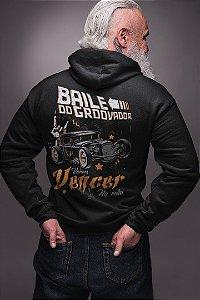 Baile do Groovador - Moletom c/ Zíper - Back to Future