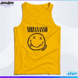 Camiseta Regata - Junior Groovador - Nirvanasso