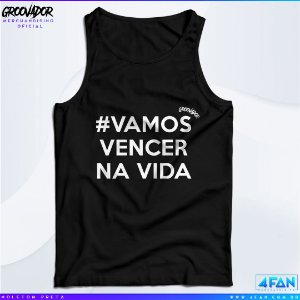 Camiseta Regata - Junior Groovador - #Vamos Vencer na Vida