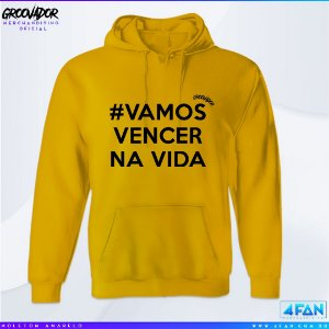 Moletom Junior Groovador - #Vamos Vencer na Vida